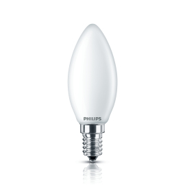 Philips Classic LEDcandle 4,3-40W B35 E14 matt