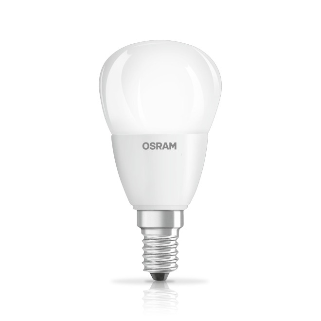 Osram Superstar Classic LED Bulb E14 6W, warmwhite, frosted - LED lamps - LED lamps & lights | the leading LED-shop by LUMITRONIX