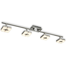 ESTO ceiling light SQUARE 4-flames