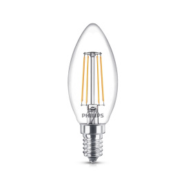 Philips Classic LEDcandle 4-40W E14 827 B35 clear