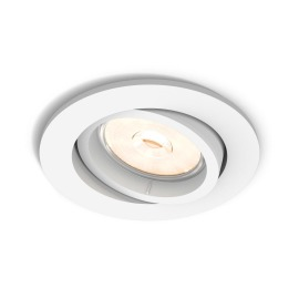 Philips myLiving LED spot Donegal rond blanc