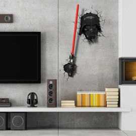 3D Wall light Star Wars  Darth Vader Lightsaber