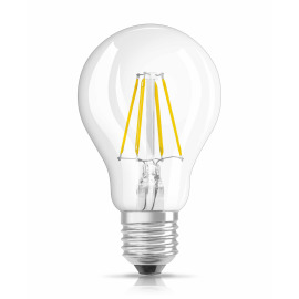 Osram LED RETROFIT CLASSIC A 40 4W 827 E27 CL
