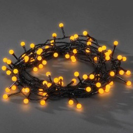 Chain of Lights, 80 round Diodes, yellow