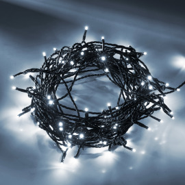 LED fairy light (rope)  white, 29m (120 LEDs)