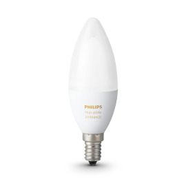 Philips Hue LED E14 White Ambiance 6W