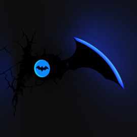3D Wall light Batarang