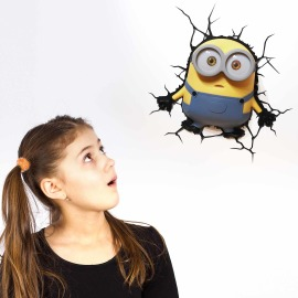 3D Wall light Minions Bob