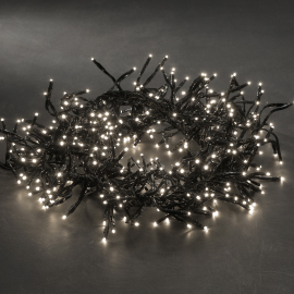 LED fairy light cluser, warmwhite, 9.6m (960 LEDs)