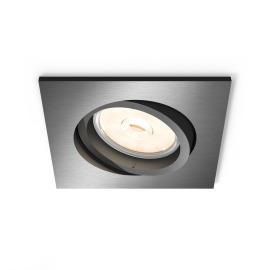 Philips myLiving LED spot Donegal carré anthracite