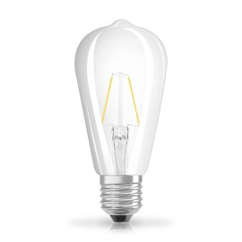 Osram LED RETROFIT  ST64 25 2W E27 clear non dim