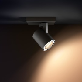 Philips hue Runner LED 1 Spot noir