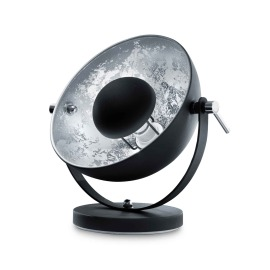 Lumego Acamar Table Lamp, E27, black-silver