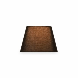 SLV Fenda Lampshade, Conical, D/H 30/20 cm, black