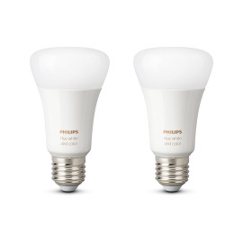Philips Hue White and Color Ambiance LED E27 set de 2 RGBW 10W