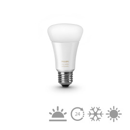 Philips Hue LED E27 White Ambiance des extensions  9,5W