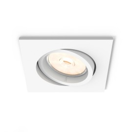 Philips myLiving LED spot Donegal square white