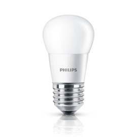 Philips CorePro LEDluster 5,5-40W 827 E27 P45 frosted