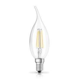 Osram LED RETROFIT BA40 4W E14 clear non dim