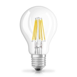 Osram LED STAR FILAMENT clear CLA 60 6,5W 840 E27 non dim