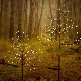 LED light tree, 120 warmwhite LEDs