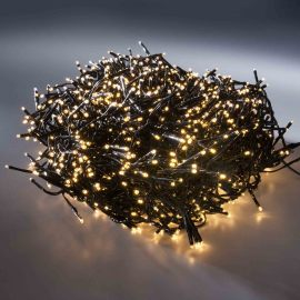 LED app controlled Chain of Lights twinkle, 13.5 m, classic warm