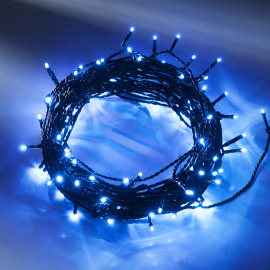 LED fairy light (rope)  blue, 16m (40 LEDs)