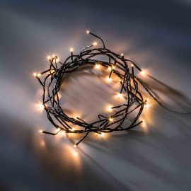 LED fairy light with eight functions, classic white, 9 m, 120 LEDs