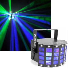 Beamz LED Butterfly 3x3W RGB 3in1 avec strobe