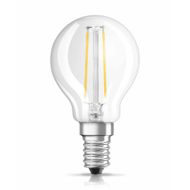 Osram LED RETROFIT CLASSIC P 25 2,8W 827 E14 CL