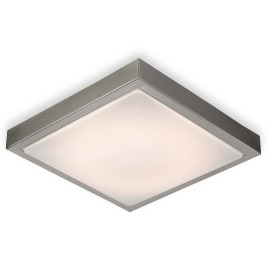 ESTO ceiling light SOFT square 30cm