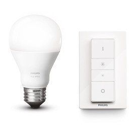 Philips Hue LED E27 Wireless Dimming Kit blanc chaude 8,5W
