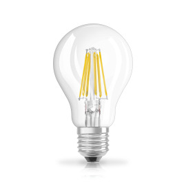 Osram LED RETROFIT A75 8W E27 klar non dim