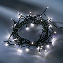 LED fairy light (rope)  white, 16m (40 LEDs)