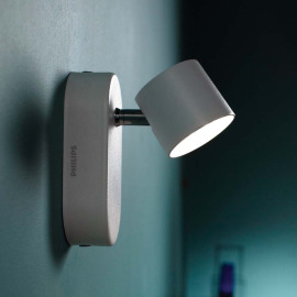 Philips myLiving Star Spot 1-flammig aluminium