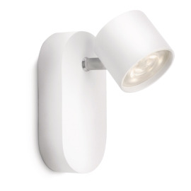Philips myLiving Star Spot 1-flamme blanc