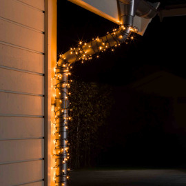 LED Chain of Lights, amber, 16 m (40 LEDs)