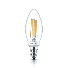 Philips Classic LEDcandle 5-40W E14 827 B35 clear DIM