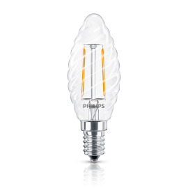 Philips Classic LEDcandle 2.3-25W E14 827 BW35 CL FIL ND