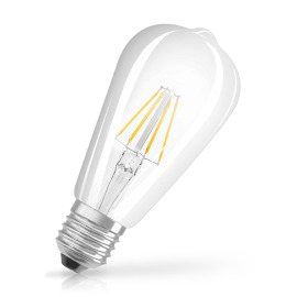 Osram LED RETROFIT CL EDISON 60 6W 827 E27