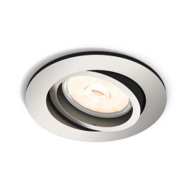 Philips myLiving LED spot Donegal round silver