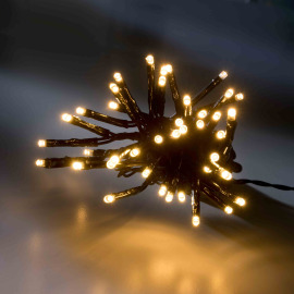 LED fairy light with eight functions memory controller, warmwhite, 54 m, 720 LEDs