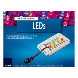 The Franzis learning package LEDs