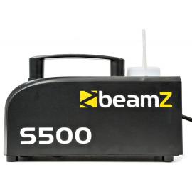 BeamZ S500 Plastic Smoke Machine incl. 250ml fluid