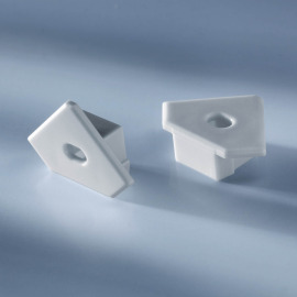 Open end cap for aluminium profiles