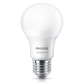 Philips SceneSwitch LEDbulb 8-60W E27 827 A60 matt