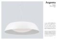 Data sheet Mantra ceiling light ARGENTA SMALL 45cm