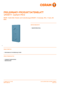 Hersteller Datenblatt Osram Smart+ Switch Mini blau