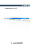 Data sheet LumiFlex Performer LED Leiste, 35 LEDs, 50cm, 24V