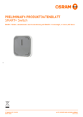 Data sheet Osram Smart+ Switch